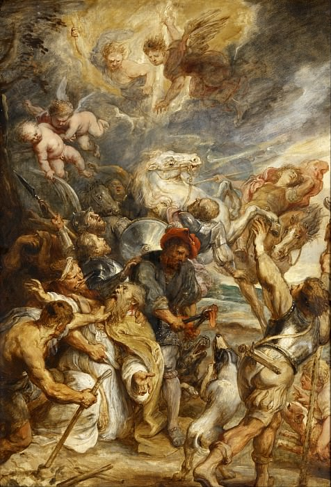 The Martyrdom of Saint Livinus -- (1633-1635). Peter Paul Rubens