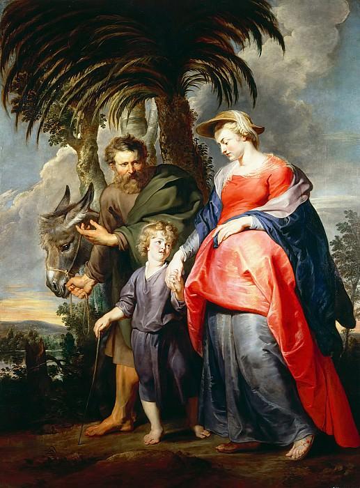 Возвращение Святого Семейства из Египта. Peter Paul Rubens