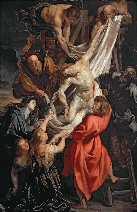 Снятие с креста. Peter Paul Rubens