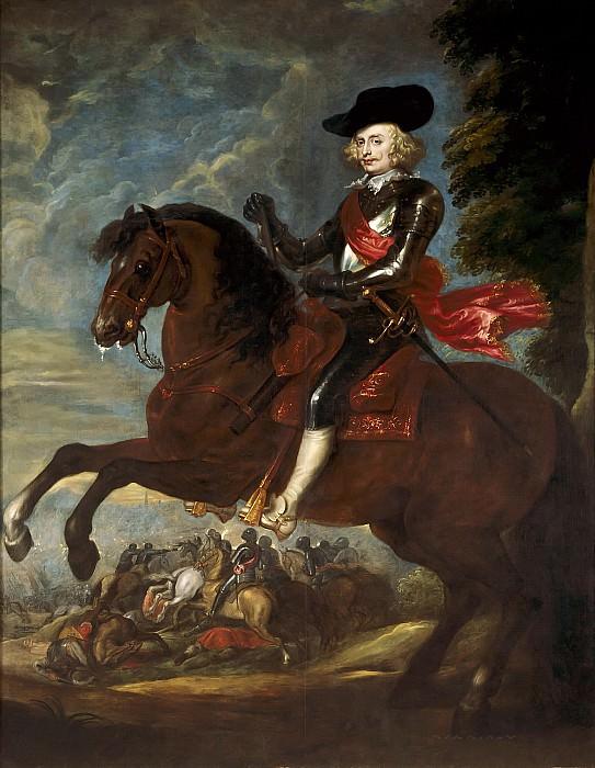 Cardinal-Infante Ferdinand on horseback in the Battle of Noerdlingen, 6 September 1634. Peter Paul Rubens