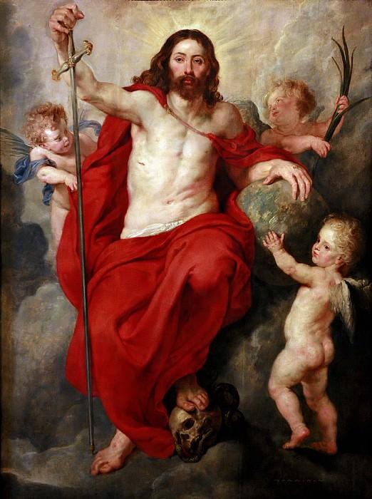 Христос - Владыка мира. Питер Пауль Рубенс