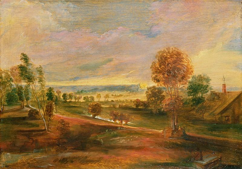 Вечерний пейзаж. Питер Пауль Рубенс