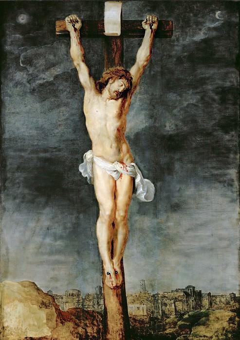 Peter Paul Rubens -- Christ on the Cross. Peter Paul Rubens