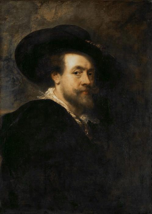 Автопортрет (приписывается Рубенсу). Peter Paul Rubens