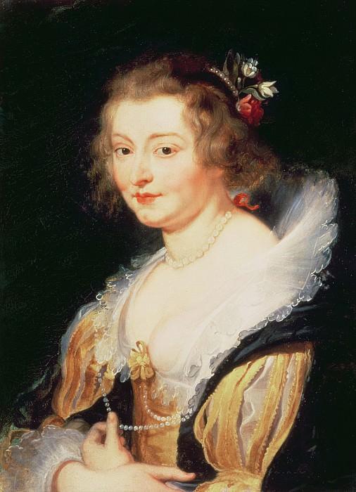 Портрет Екатерины Мэннерс, герцогини Бекингем. Peter Paul Rubens