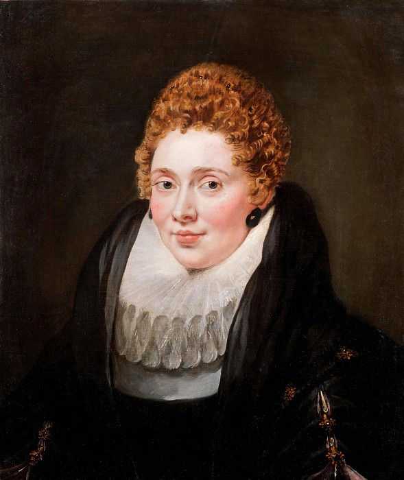 Portrait of a lady. Peter Paul Rubens