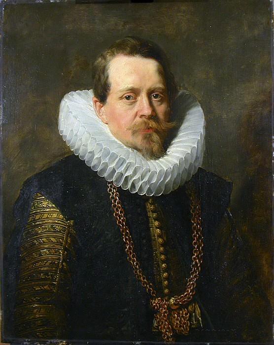 Peter Paul Rubens ou Antoon van Dyck -- Portrait de Jean Charles de Cordes, après 1574?-1641. Peter Paul Rubens