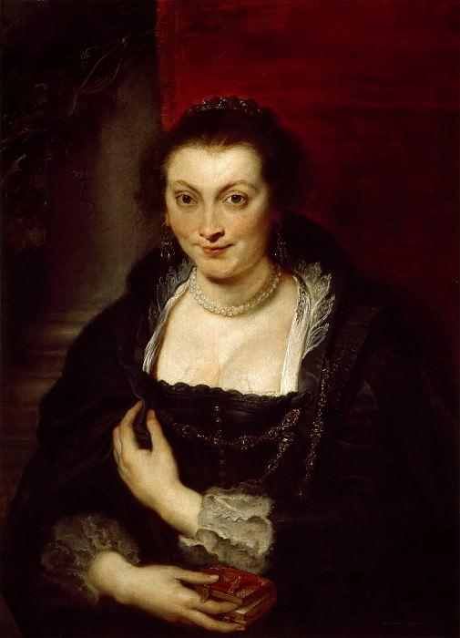 Isabella Brant - 1626. Peter Paul Rubens