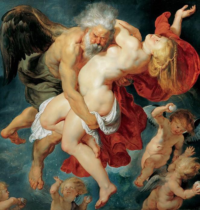 Борей, похищающий Орифию. Peter Paul Rubens