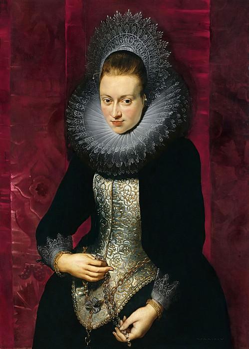Портрет женщины с четками. Питер Пауль Рубенс