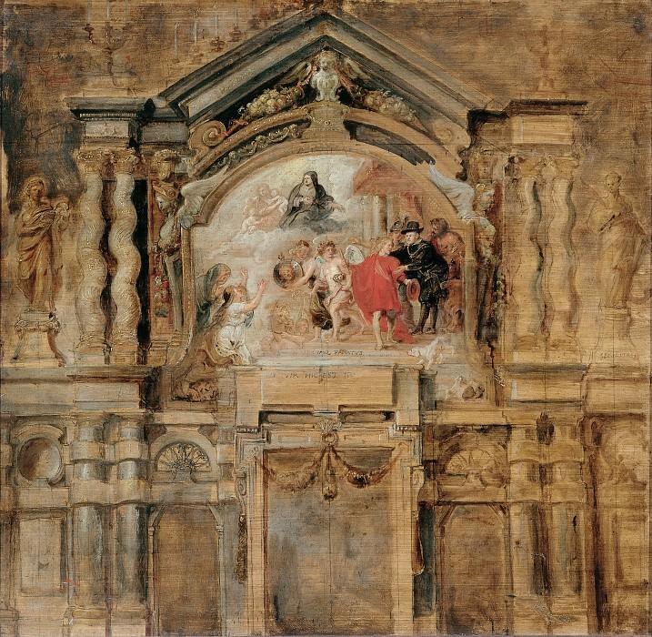 Апофеоз инфанты Изабеллы Клары Евгении. Peter Paul Rubens