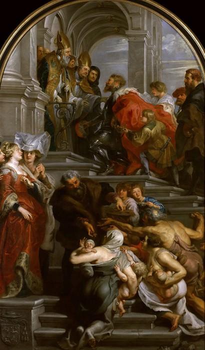 De bekering van de H. Bavo. Peter Paul Rubens