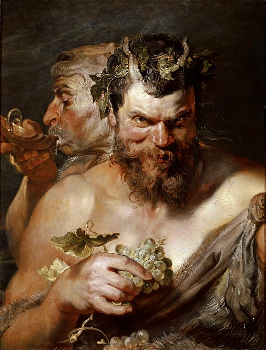 Two Satire - 1618 - 1619. Peter Paul Rubens