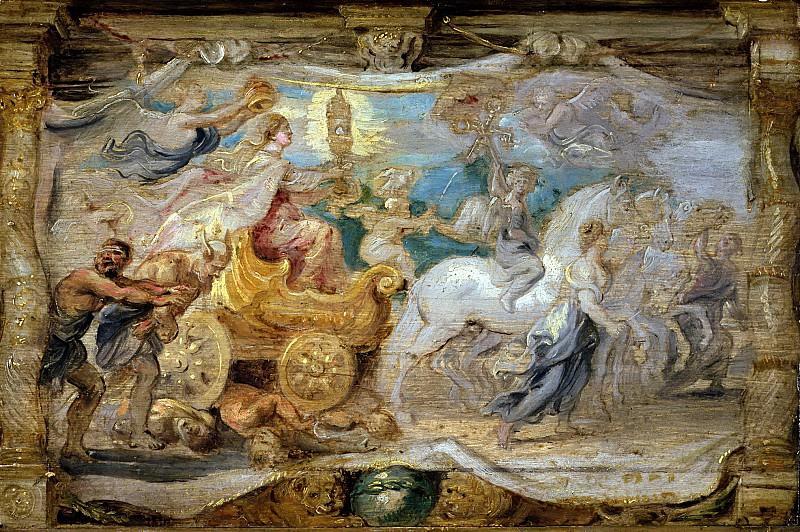 Триумф евхаристии. Peter Paul Rubens