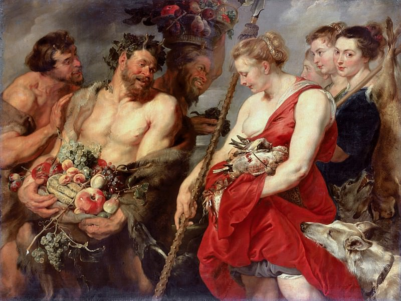 Diana Returning from Hunt - Диана возвращается с охоты - 1615. Peter Paul Rubens