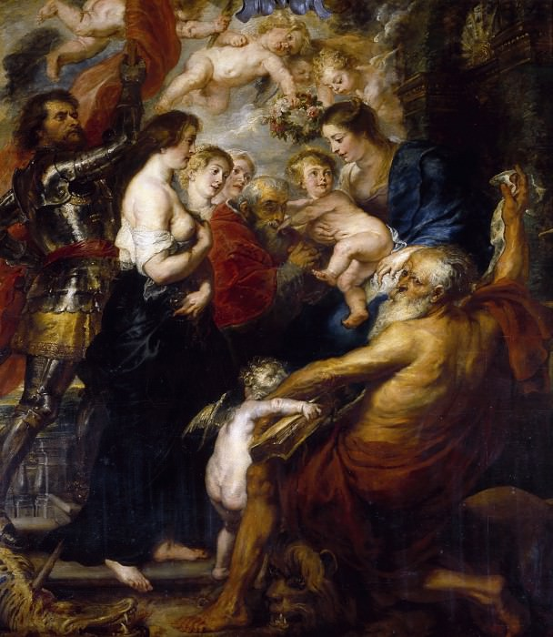 Our Lady with the Saints - 1634. Peter Paul Rubens