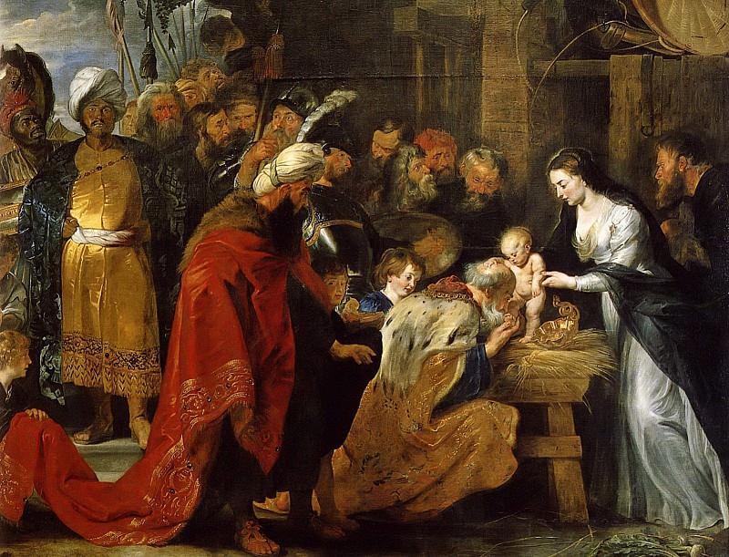 Поклонение волхвов. Питер Пауль Рубенс