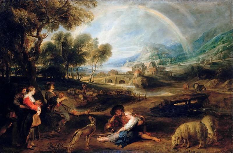 Пейзаж с радугой. Peter Paul Rubens