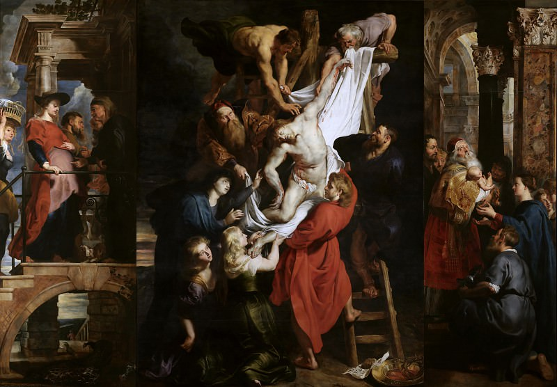 Rubens Descent from the Cross. Peter Paul Rubens