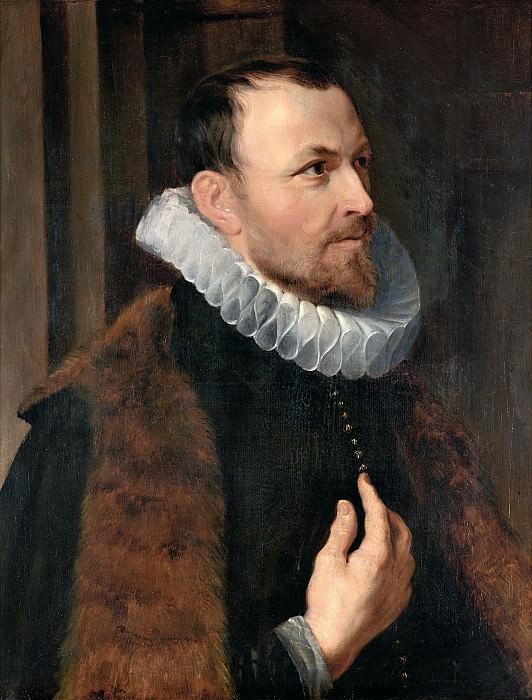 Портрет Николаса Рококса, приписывается Рубенсу. Питер Пауль Рубенс