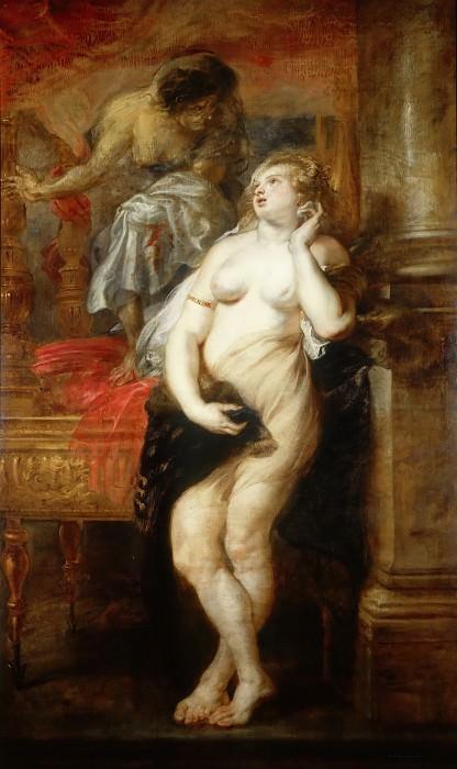 Peter Paul Rubens -- Deianeira Tempted by Fama. Peter Paul Rubens