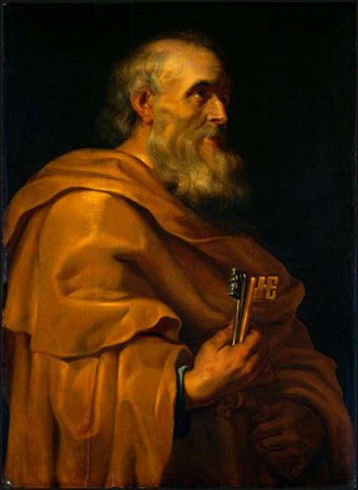 Saint Peter - 1616 - 1618. Peter Paul Rubens