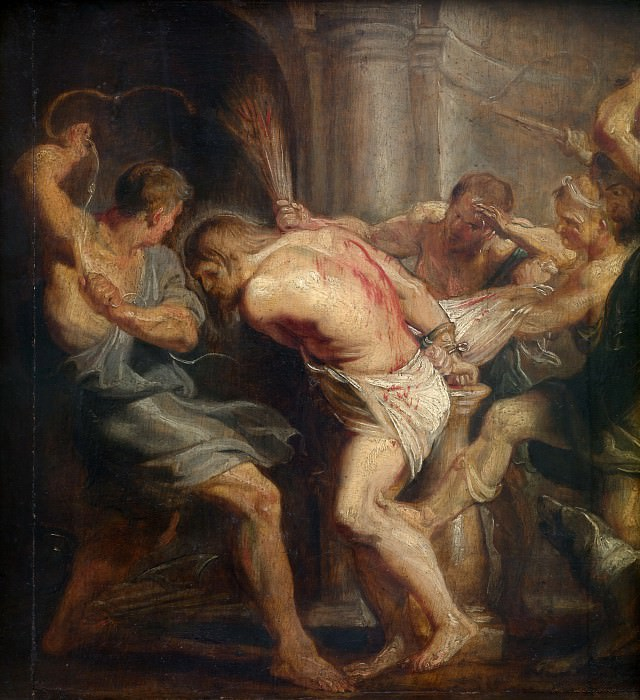 Flagellation of Christ. Peter Paul Rubens
