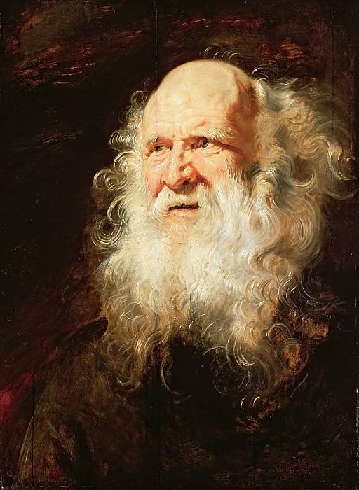 Голова старика, эскиз. Peter Paul Rubens