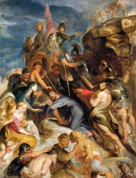 Carrying the Cross - 1637. Peter Paul Rubens