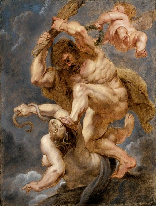 Hercules as Heroic Virtue Overcoming Discord - 1632 -1633. Peter Paul Rubens