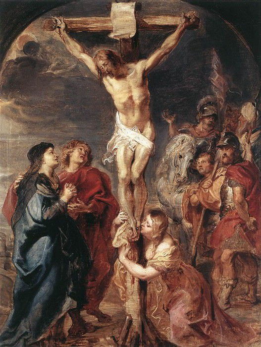 Rubens Christ on the Cross 1627. Peter Paul Rubens