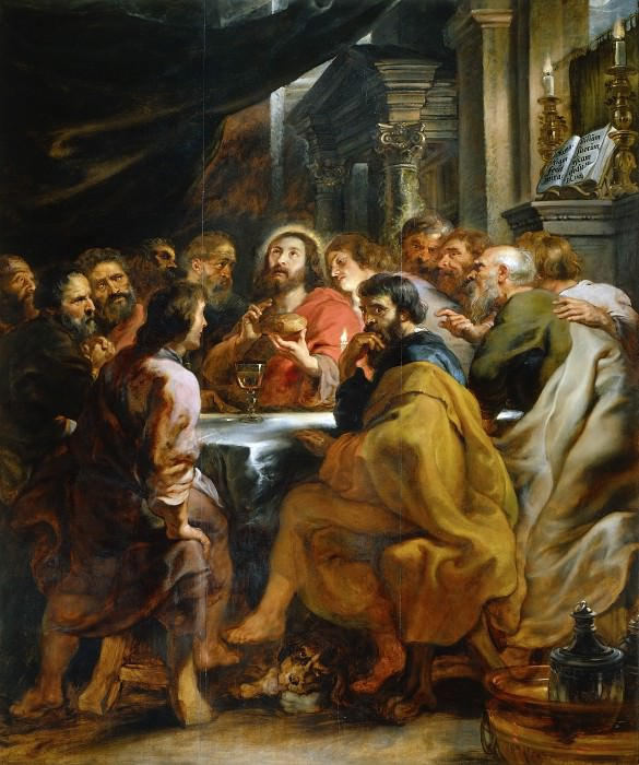 Last Supper. Peter Paul Rubens