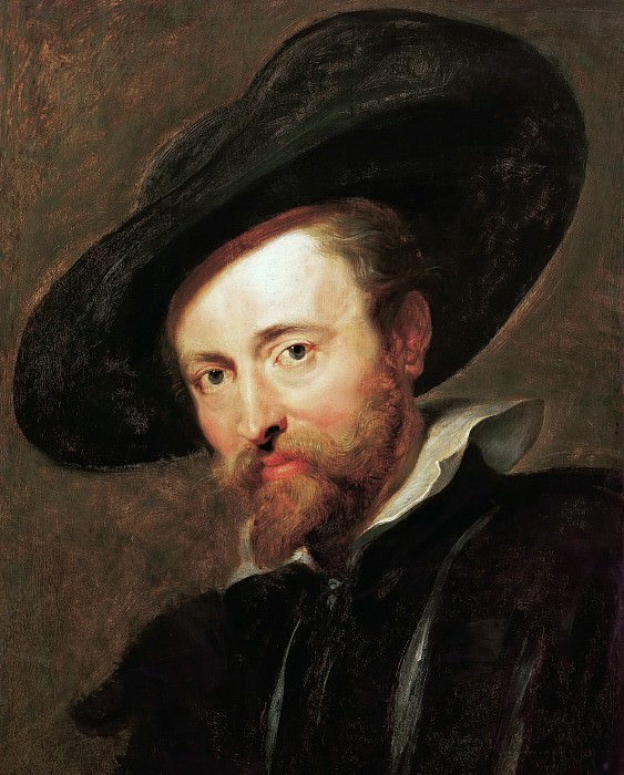 Self Portrait 1623. Peter Paul Rubens