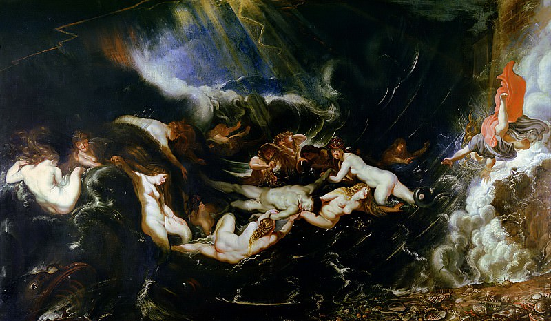Hero and Leander - 1605. Peter Paul Rubens