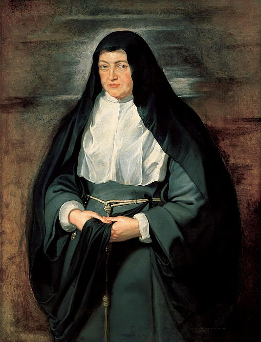 Portrait of Archduchess Isabella Clara Eugenia - 1625. Peter Paul Rubens