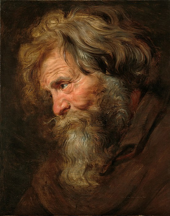 Old Man. Peter Paul Rubens