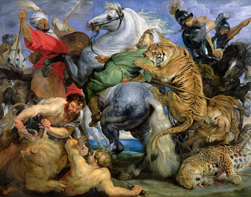 Охота на тигров. Peter Paul Rubens