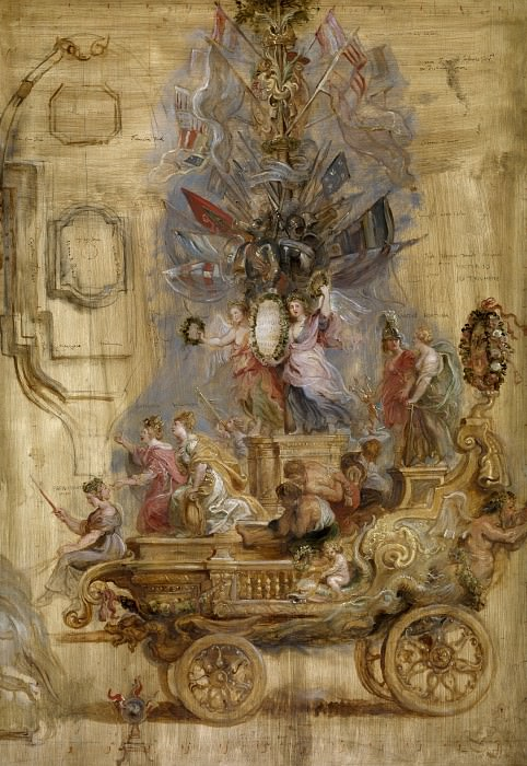 Triumphal Car of Kallo - 1638. Peter Paul Rubens