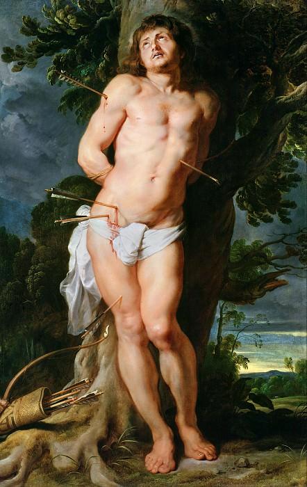 St Sebastian - 1614. Peter Paul Rubens
