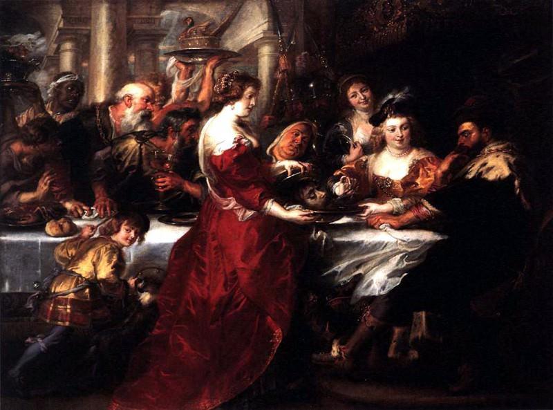 The Feast of Herod - 1633. Peter Paul Rubens