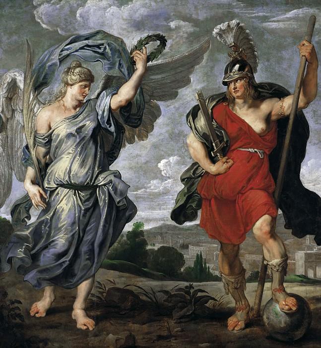Victoria und Virtus. Peter Paul Rubens