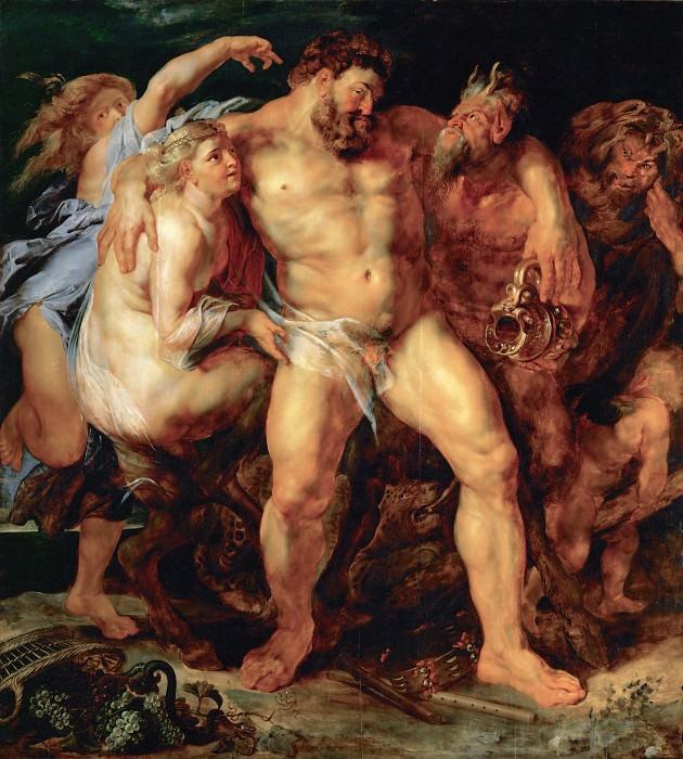 The Drunken Hercules - Пьяный Геракл - 1611. Peter Paul Rubens