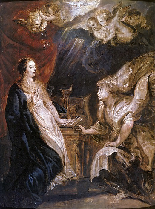 Annunciation. Peter Paul Rubens