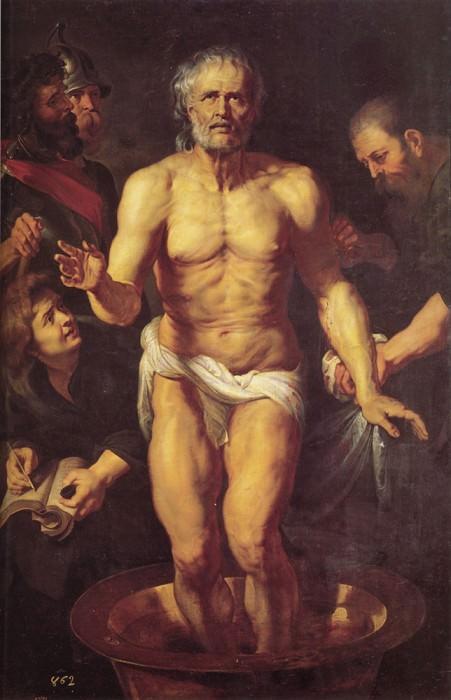 Rubens The Death of Seneca. Peter Paul Rubens