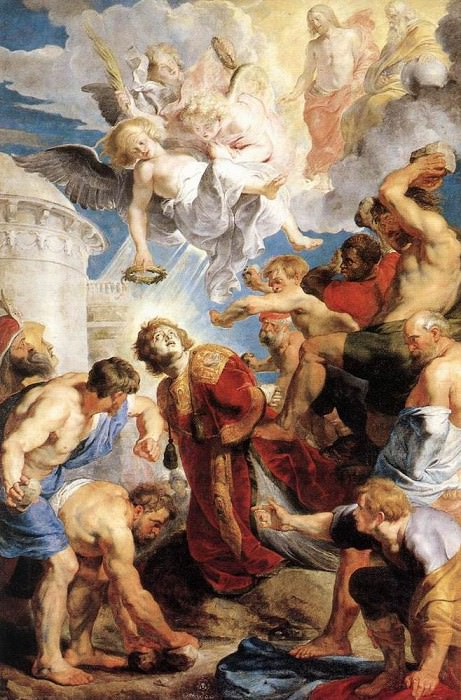 The Martyrdom of St Stephen. Peter Paul Rubens