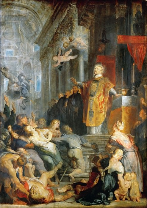 Miracle of St Ignatius of Loyola. Peter Paul Rubens