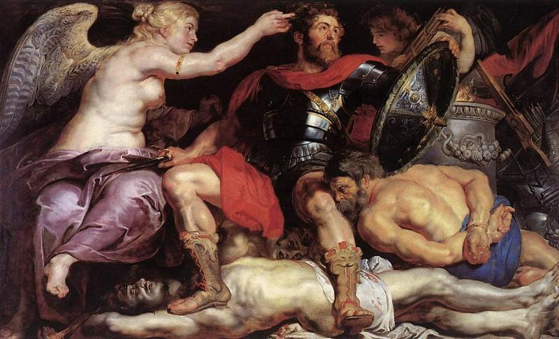 Rubens The Triumph of Victory. Peter Paul Rubens