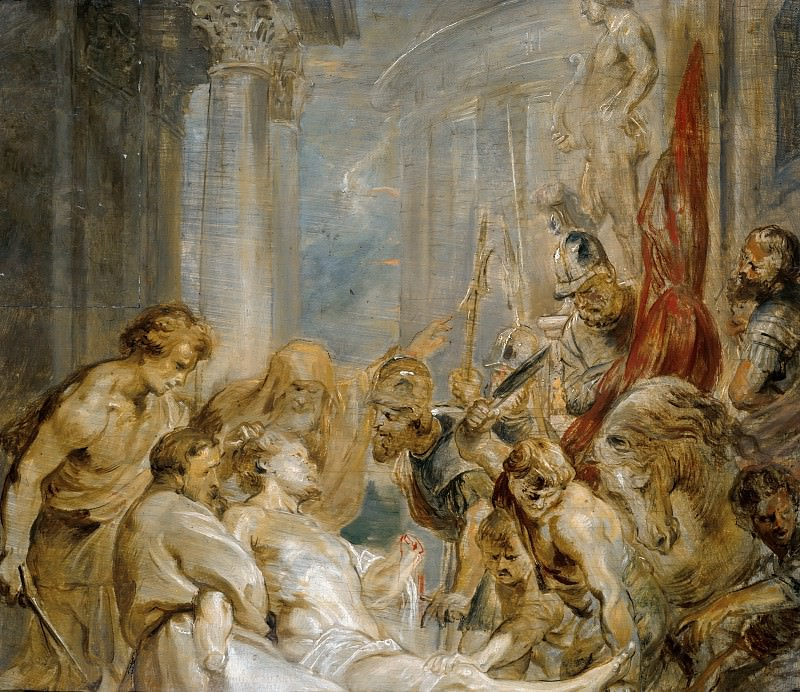 Martyrdom of Saint Hadrianus. Peter Paul Rubens