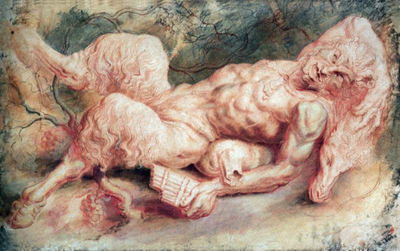 Pan Reclining - 1610. Peter Paul Rubens