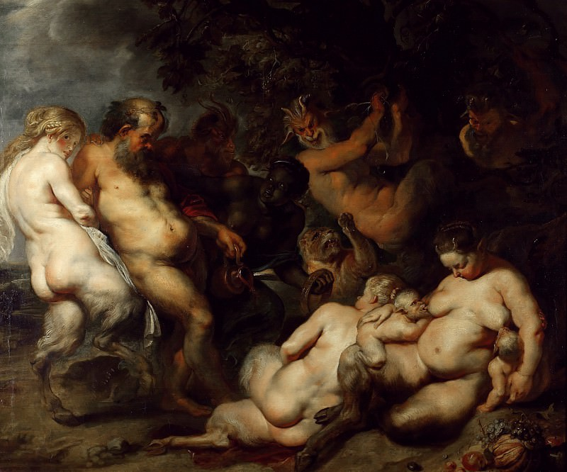 Bacchanalia - 1615. Peter Paul Rubens